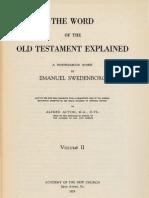 Em Swedenborg THE WORD EXPLAINED Volume II GENESIS Chapters XXIX XXXIV Numbers 542 1649 ANC Bryn Athyn PA 1929