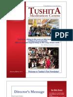 Tushita Newsletter - Autumn Winter 2011