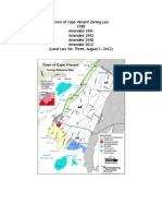 Town of Cape Vincent  FINAL Zoning Law - August 1, 2012
