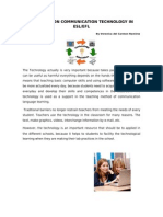 Information Communication Technology in Esl