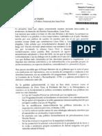 Lea la carta de renuncia de Javier Diez Canseco a la bancada de Gana Perú