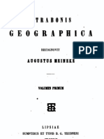 Strabo, Geographika (3 vols., ed. Meineke, 1852-1898)