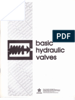 Basic Hydraulic Valves