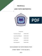 Proposal of Reporting Radio