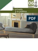 (1) LIBRO Lo Intimo Lo Privado y Lo Publico