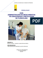 ENS2100 Medicamento Parenteral Fleboclisis