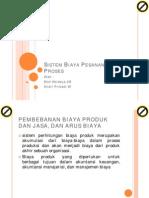 Sistem Biaya Pesanan Dan Proses
