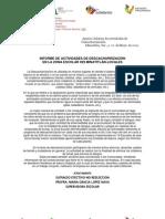 INFORME DE ACTIVIDADES DE DESCACHARRIZACIÓN-Z-029