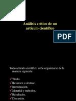 Analisis Critico de Un Articulo Cientfico Biotec