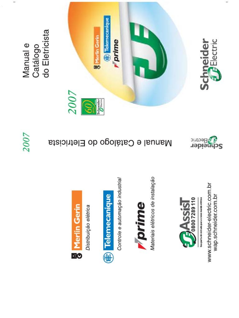 Manual eletricista schneider1 ccuart Choice Image