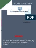 Hindustan Unilever marketing management by surya