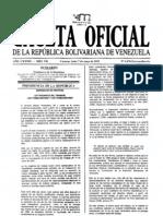 LOTTT Gaceta Oficial