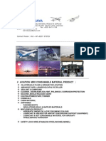 Lubrindo Jaya - Aviation MRO Material Product Linecard