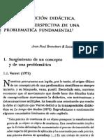 Bronckart - Plazaola Giger - La transposición Didáctica