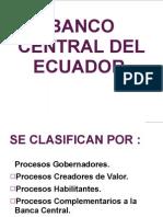 Resumen Del Banco Central Del Ecuador