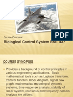 Bmt437-Introduction to Control Systems