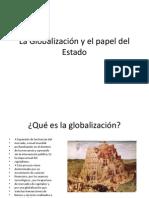 La Globalización y el papel del Estado