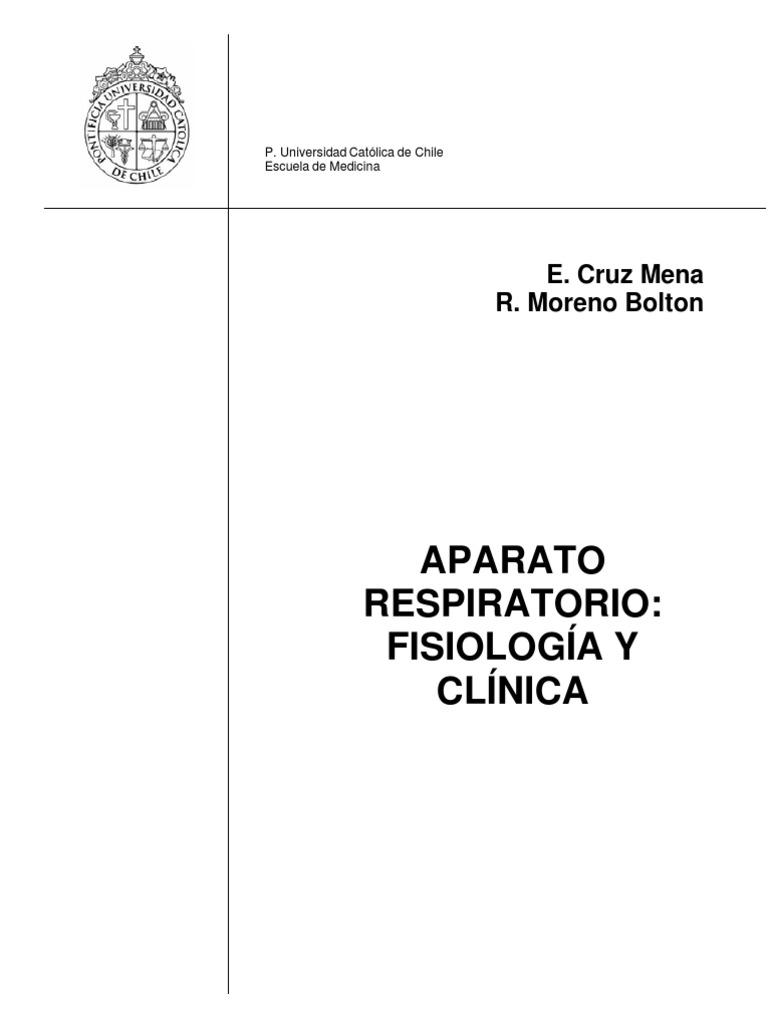 E. Cruz y R. Moreno - Aparato respiratorio. Fisiología y clínica ...