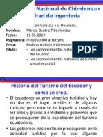 El Turismo en Ecuador
