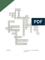 5 Crucigrama reglas ortograficas y signos de puntuaciòn