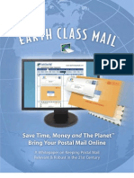 Earth Class Mail- eBook- A Whitepaper on Keeping Postal Mail Relevant and Robust in the 21st Century