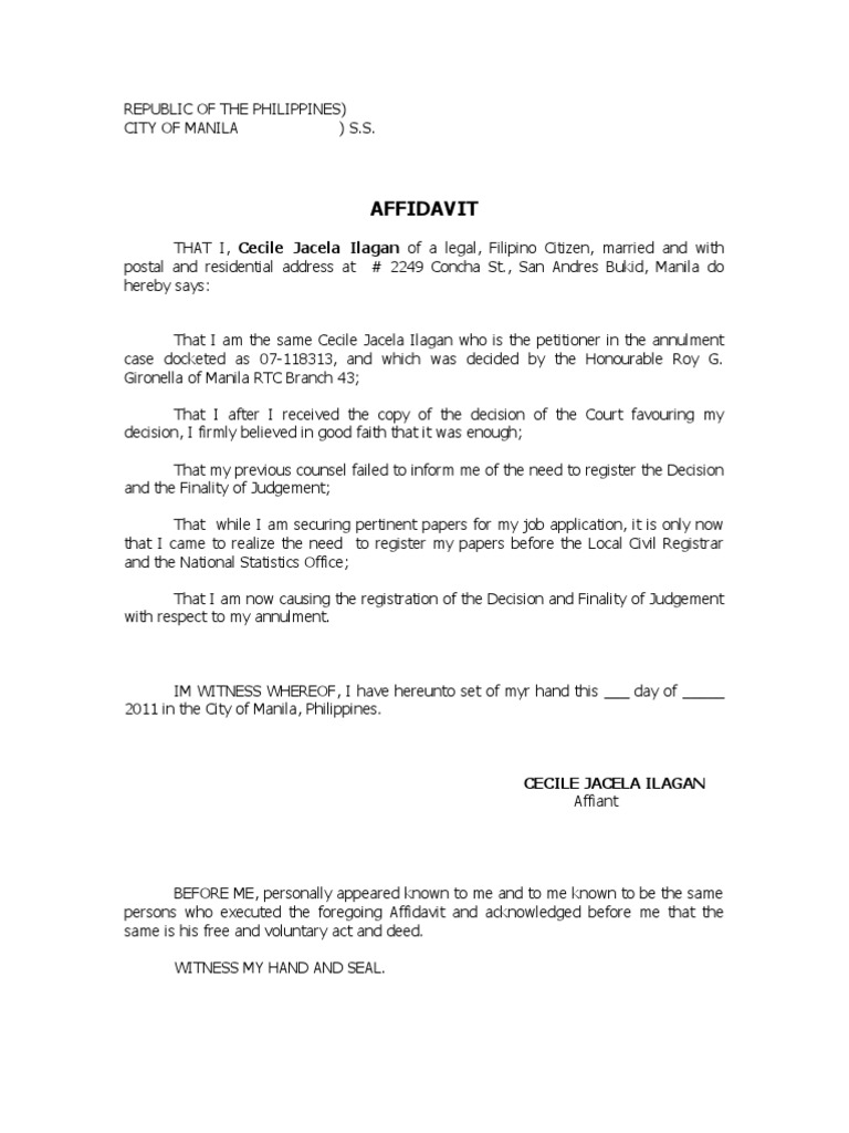 Affidavit of late filing spiritdancerdesigns Gallery