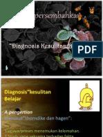 Psikologi Pendidikan, Diagnosis Kesulitan Belajar