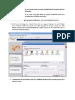 Pasos instalar una aplicación de Visual FoxPro 9.0