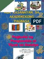FILIP12 Pangunahing Ideya Pananaw