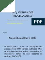 Arquitetura Dos Processadores