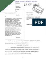 Facebook securities lawsuit