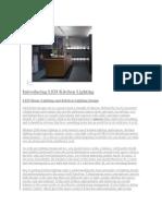 Introducing LED Kitchen Lighting
