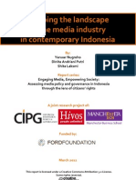 Mapping the Landscape of Media Industry in Contemporary Indonesia