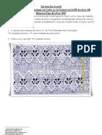 36) Apostila Cartela Numero Um Para Carro De Croche A Maquina Em Lã ou Linha Industrial 2/28