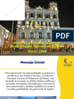 Ministra Turismo