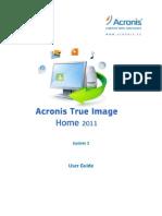 Acronis True Image Home Manual