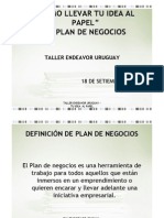 Como Llevar Tu Idea Al Papel - El Plan de Negocios