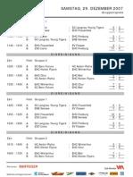Resultate Picci-Turnier 2007