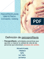 Ppsicoprofilaxis Obstetrica. Conceptos. Iceber
