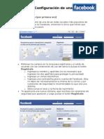 Creación y Configuración de una cuenta en facebook