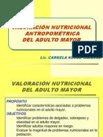 valoracion antropométrica adulto mayor abril 2010