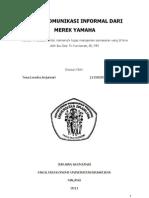 Audit Komunikasi Informal Dari Merek Yamaha