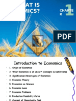 Lecture1(a) -What is Economics