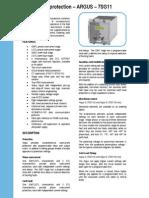 7SG11 Argus Catalog Sheet