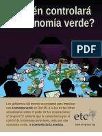 ETC Quien Controlara La Economia Verde