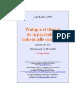 Alfred Adler - Pratique Et Théorie de La Psychologie Individuelle 1