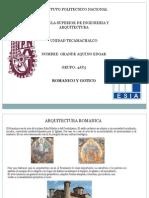 Romanico y Gotico