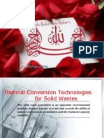 Thermal Conversion Technologies for Solid Wastes