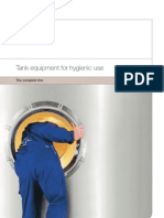 Brochure - Tank Equipment for Hygienic Use - The Complete Line - En