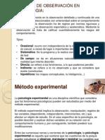 Método experimental en psicología